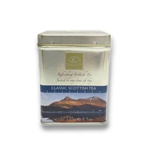 Classic Scottish Loose Tea Caddy