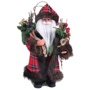 "Woodland Santa 9"" tall"