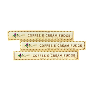 Coffee & Cream Fudge - three sticks