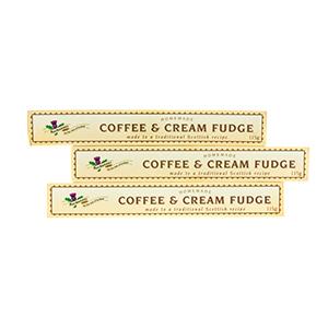 Coffee & Cream Fudge - three sticks