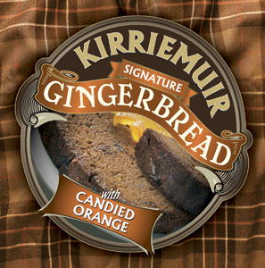 Kirriemuir Gingerbread with Candied Orange