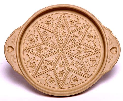 Star Flower Shortbread Mold