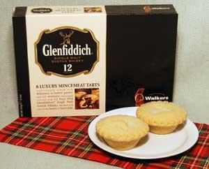 Glenfiddich Mincemeat Tarts - 6 per box
