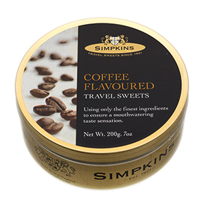 Coffee Flavored Travel Sweets from Simpkins
