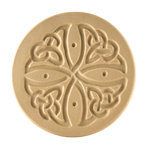 Celtic Cross Cookie Stamp 3""