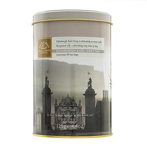 Edinburgh Earl Grey Tea Bag Canister - 50 teabags