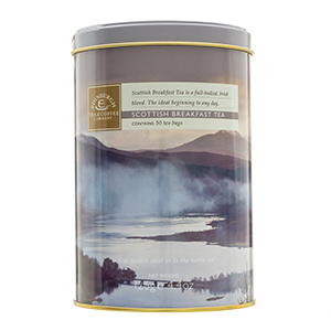 Scottish Breakfast Tea Drum - 50 teabags