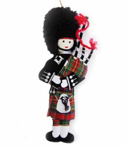Highland Piper Ornament