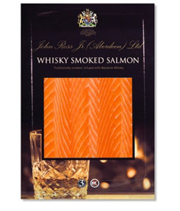 Whisky Smoked Salmon