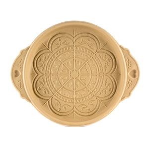 Rose Window Shortbread Pan