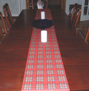 Royal Stewart Table Runner