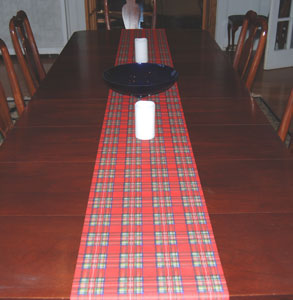 Royal Stewart Table Runner