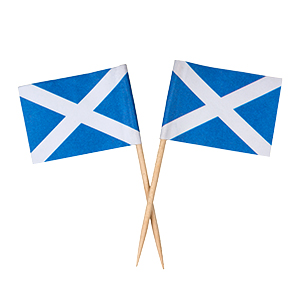 Scottish Flag Toothpicks