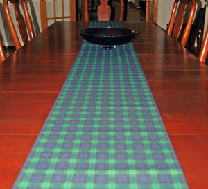 Black Watch Table Runner