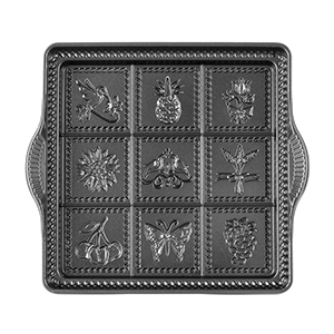 Shortbread Pan with nine designs from Nordicware