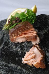 Roasted Smoked Salmon