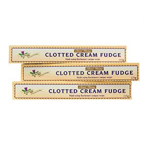 Clotted Cream Fudge - three sticks