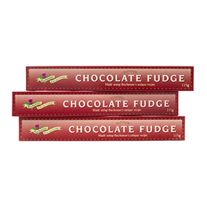 Chocolate Fudge - three sticks